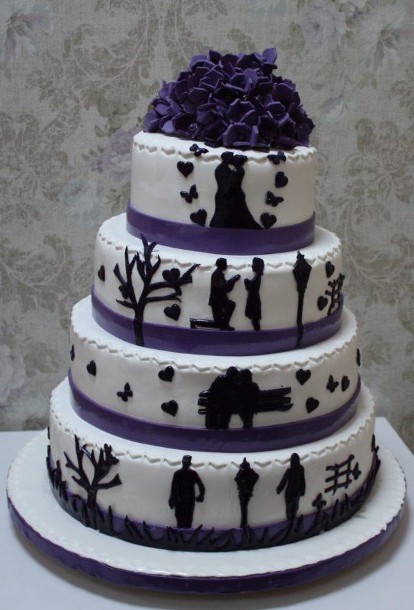 Tort Nunta N182 Povestea Cofetaria Paradis